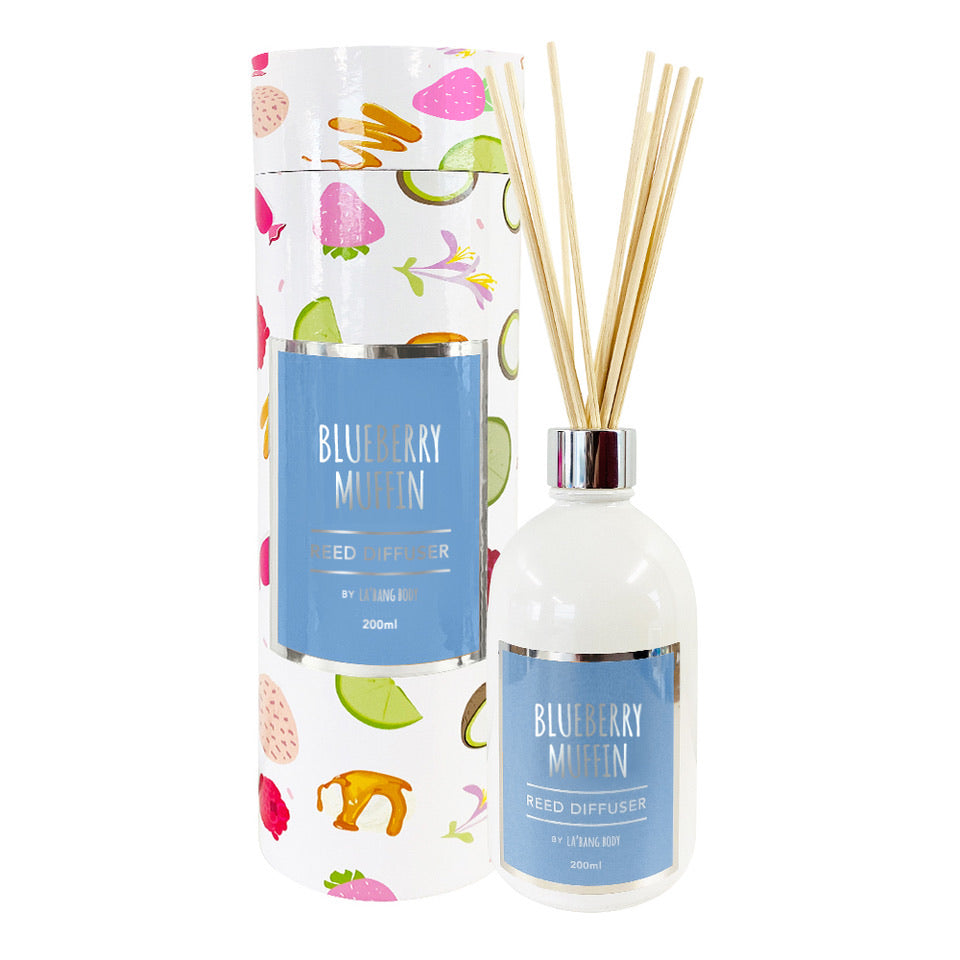 Reed diffuser - Blueberry muffin - 200ml
