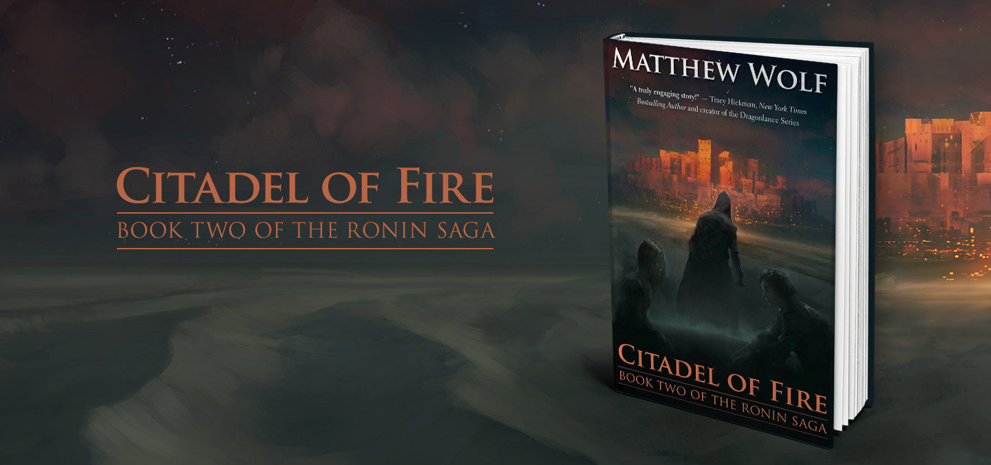 Citadel of Fire - Book Tour!