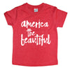 Kids America the Beautiful tee