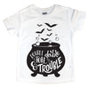 "Kids short sleeve ""Double Double Toil & Trouble"""
