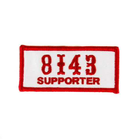 8143 Supporter Patch