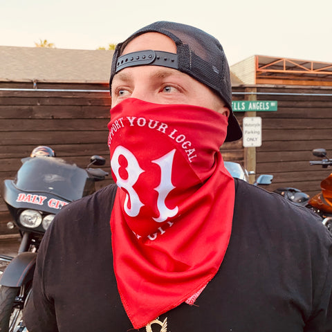 Support 81 Daly City Face Mask / Bandana