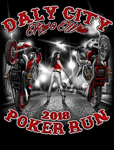 2018 Poker Run T-shirt