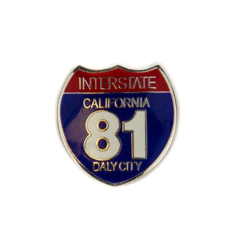 Interstate 81 Pin