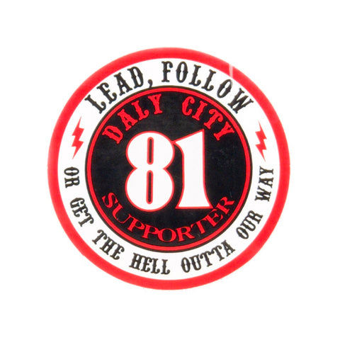Lead Follow Support Sticker