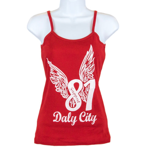 Ladies Support Ribbon Tank top