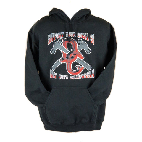 DC Hammer Pull Over Hoodie