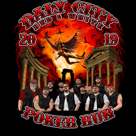2019 Poker Run T-shirt