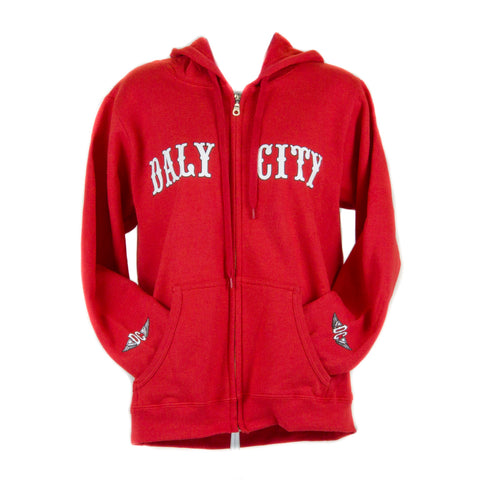 Ladies Daly City Zip Up Hoodie