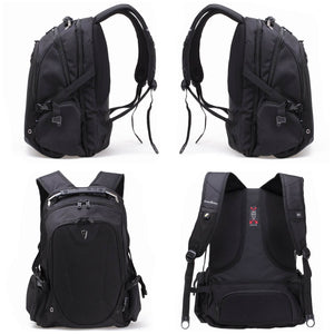 Victoriatourist V6012 Laptop Backpack Black Fits 17 inch Laptops and Tablets