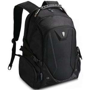 "V6012 Laptop Backpack Victoriatourist with Tablet / iPad Compartment Fits Most 17"" Black"