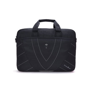 "Victoriatourist V7007 Laptop Briefcase Messenger Bag for 14"" Laptops (Black)"
