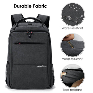 Victoriatourist V9006 Laptop Backpack with Computer Compartment Fits up to 15.6 inches