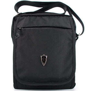 Victoriatourist V3002 Vertical Messenger Bag for iPad and Tablets Upto 9.7-Inch Black
