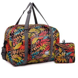 T302 Travel Duffel Bag Leaf Nylon 20 Inches