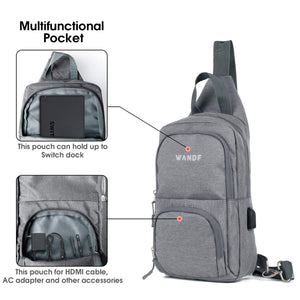 New Victoriatourist Switch Travel Bag Protective Storage Sling Backpack Shoulder Bag WF5008