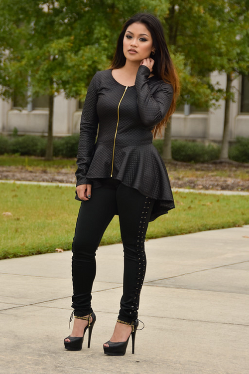 Nori Long Sleeve Jacket - Chimes Boutique