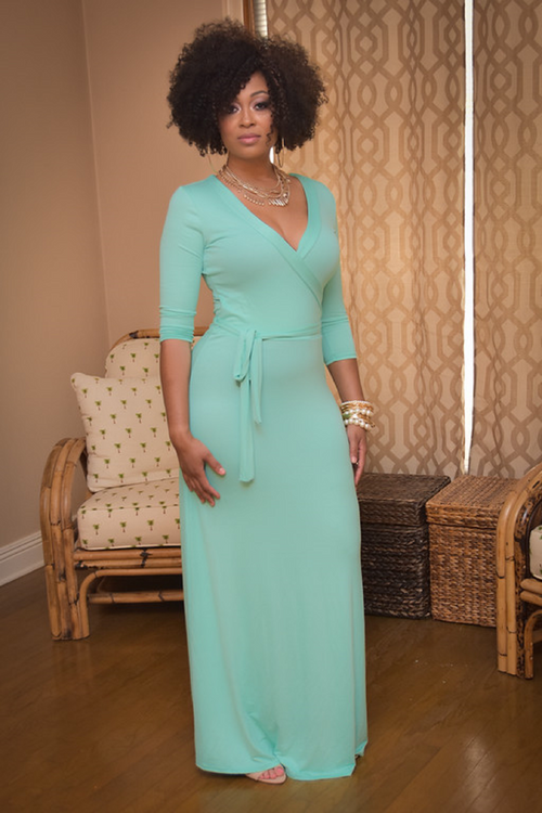Omarosa in Mint - Chimes Boutique  - 1