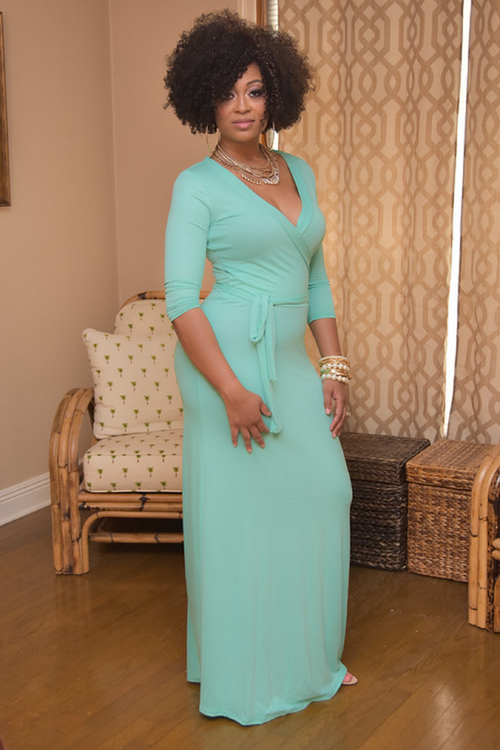 Omarosa in Mint - Chimes Boutique  - 2