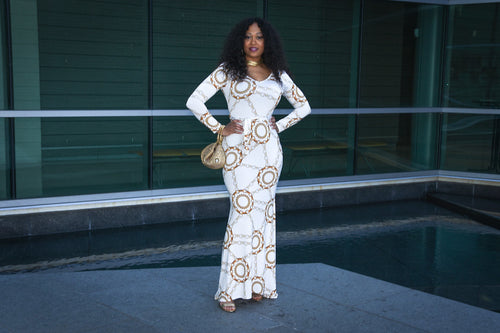 Forever My Lady Maxi Dress in White