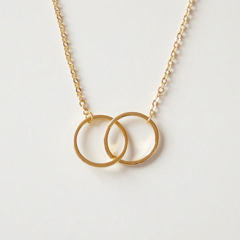 necklace withloved double grande ring products