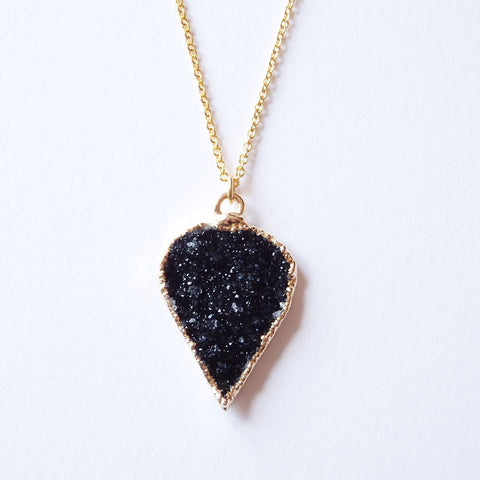 druzy necklace by Adruzy