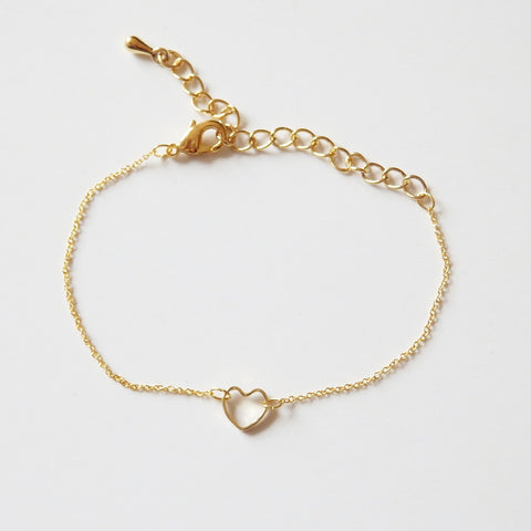 heart bracelet by Adruzy