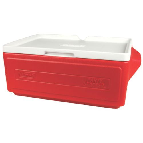 Coleman 24 Can Stacker Cooler Red - Ayudh Sports LLP  - 1