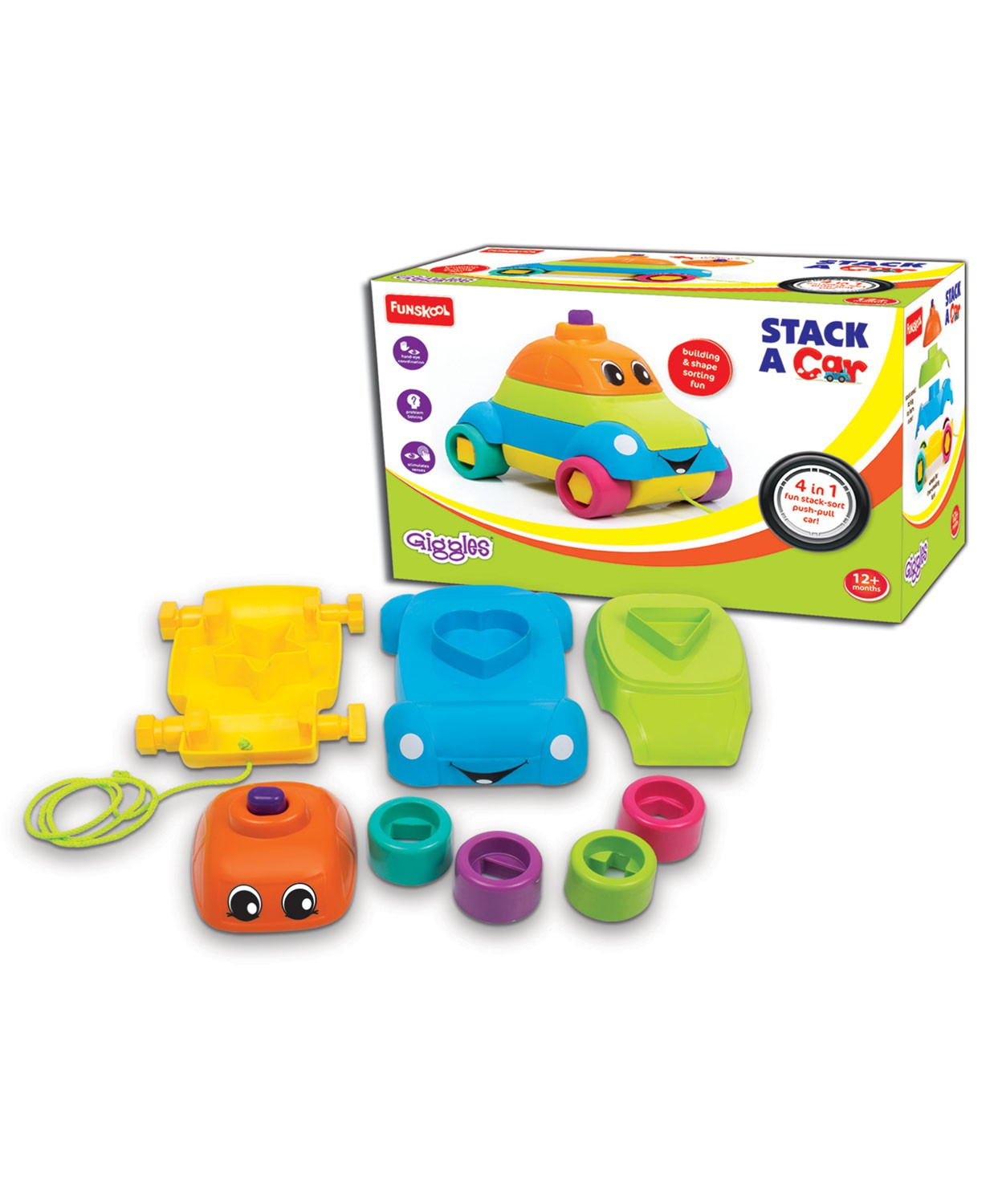 Funskool  Stacking Car