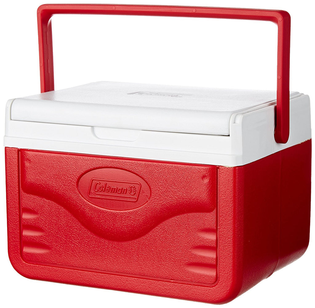 Coleman 5Qt/4.7 Liters Shield Cooler (Red)