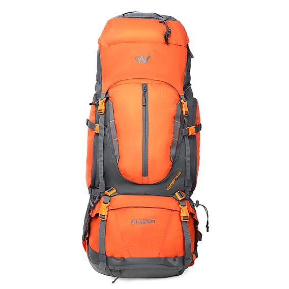 Wildcraft Gangotri 65 Orange Rucksack