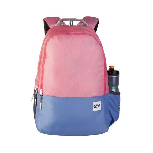 Wildcraft Wiki 1 Spray Pink School Bag