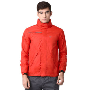 Wildcraft Hypadry Unisex Rain Pro Jacket - Orange