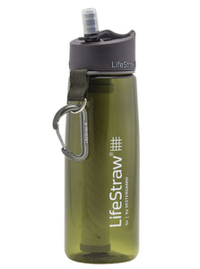 Lifestraw Water Bottle With 2 Stage Filtration Green - Ayudh Sports LLP  - 1
