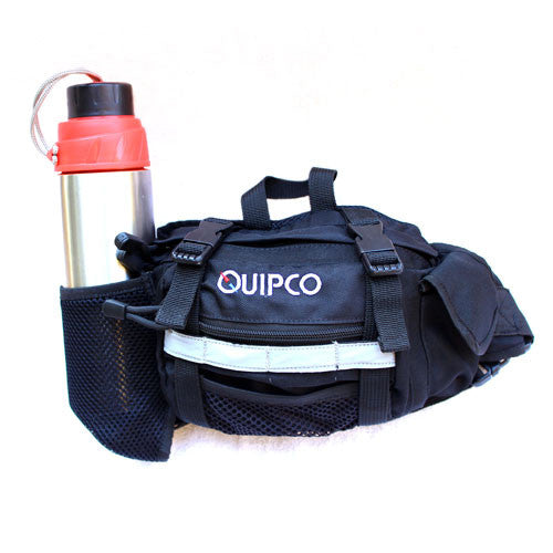 Quipco Ez Space Waist Pouch Black - Ayudh Sports LLP  - 1