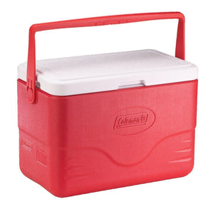 Coleman 28Qt/26 Litres Cooler with Bail Handle  Red