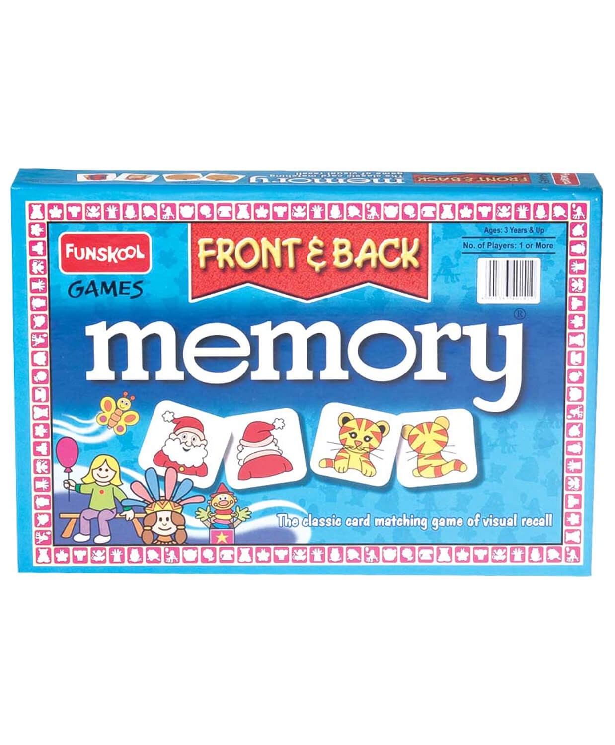 Funskool Memory Fronts And Back