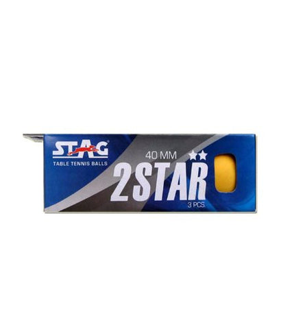 Stag TTBA-400 Two Star Orange Ball (Pack of Three) - Ayudh Sports LLP  - 1