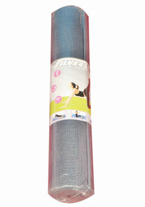 Silver's Yoga Mat with Cover, 6mm (Grey) - Ayudh Sports LLP