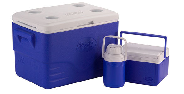 Coleman 36-Quart Cooler Combo Blue - Ayudh Sports LLP