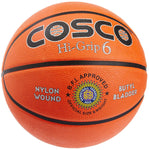 Cosco Hi-Grip Basket Balls, Size 6 (Orange)