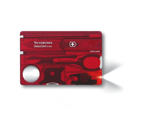 Victorinox Swiss Card Red Swiss Army Knife (0.7300.T) - Ayudh Sports LLP  - 1