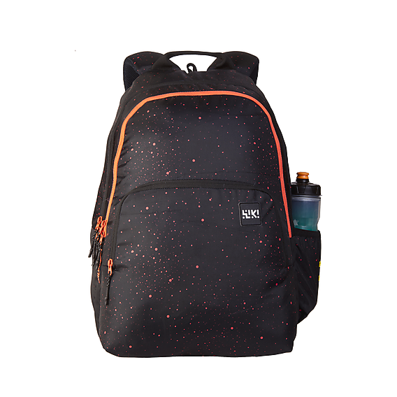 Wildcraft Wiki 4 Spray Black School Bag