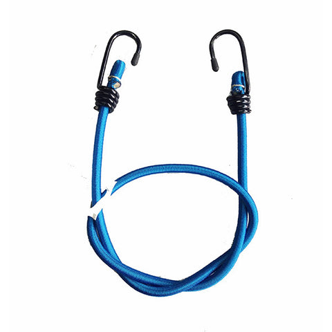 "MOTOTECH Root Bungee Tie Down - 8mm - Blue - 36""-90cms (Pack Of Two) - Ayudh Sports LLP"