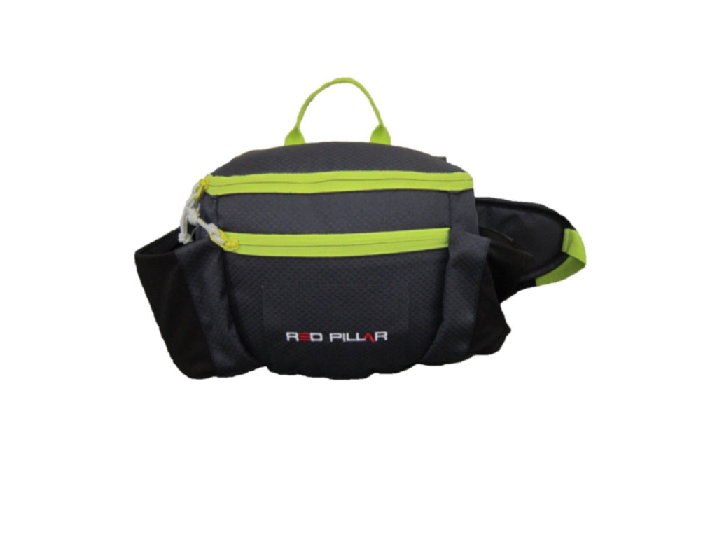 Red Pillar Cruiser Waist Pouch Black - Ayudh Sports LLP  - 1