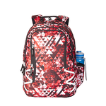 Wildcraft WC 5 Geo Camo Red School Bag