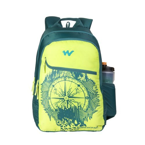 Wildcraft WC 3 Wild Trvl_Green School Bag