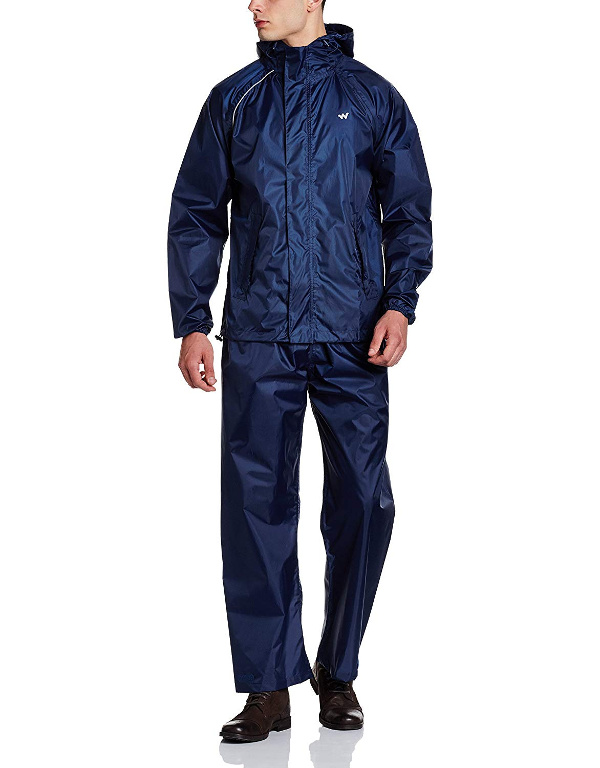 Wildcraft Rain cheater Suit Navy
