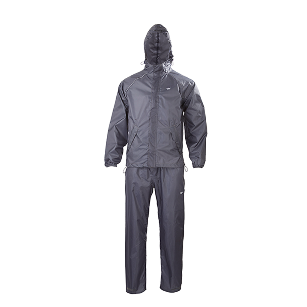 Wildcraft Rain Jacket Suit Grey