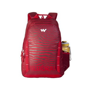 Wildcraft WC 6 Wild Lines Red  Laptop Bag